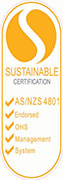 Sustainable Certification logo