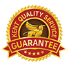 Qualty service guarantee logo