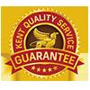 Qualty service guarantee logo
