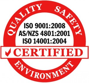 Certified ISO 9001:2008 Emblem